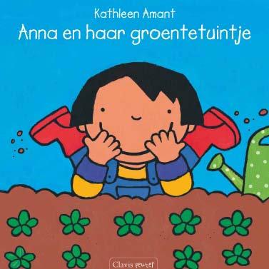 Anna en haar groententuintje