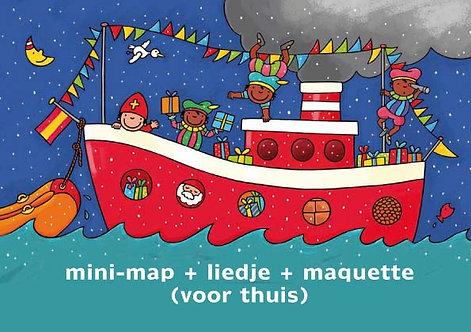Thuispakket Klaasje Sinterklaasje