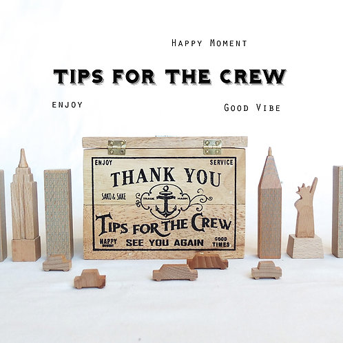 Tips Box / Tips for the crew