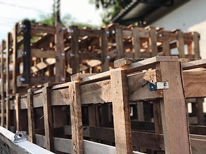 YTT Wooden crate