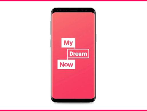 My Dream Now appen är ett digitalt verktyg som hjälper unga att skapa kontakter i arbetslivet.