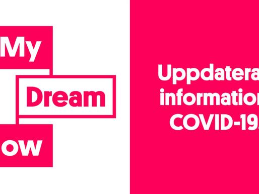 Uppdaterad information: COVID-19.