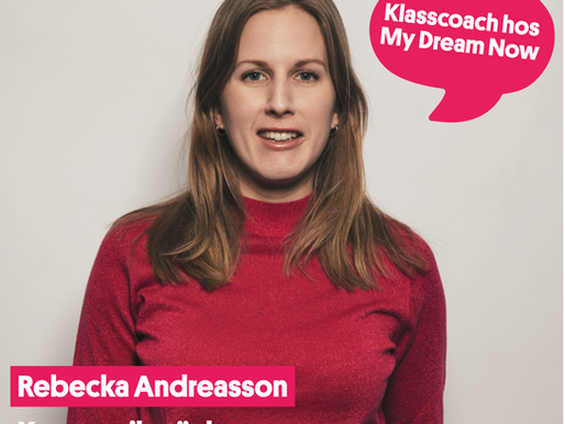 Intervjuserie: Rebecka Andreasson, kommunikatör hos Microsoft och klasscoach.