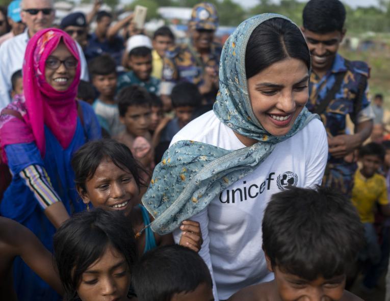 Priyanka Chopra Unicef