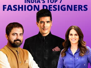 India's Top 7 Fashion Designers