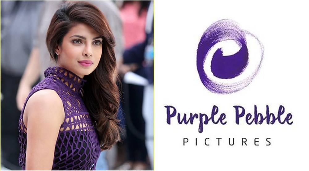 Priyanka Chopra Purple Pebble