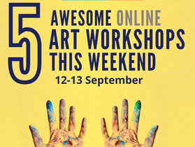 5 Awesome Online Art Workshops To Attend This Weekend