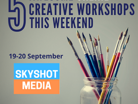 5 Online Creative Workshops This Weekend