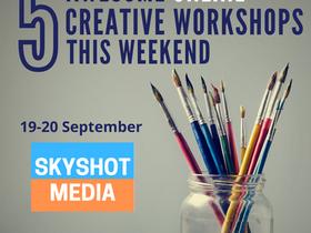 5 Online Creative Workshops This Weekend