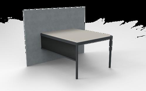 Lamellendach TECHNIC | 300cm x 401,9 cm | Screen rechts oder links