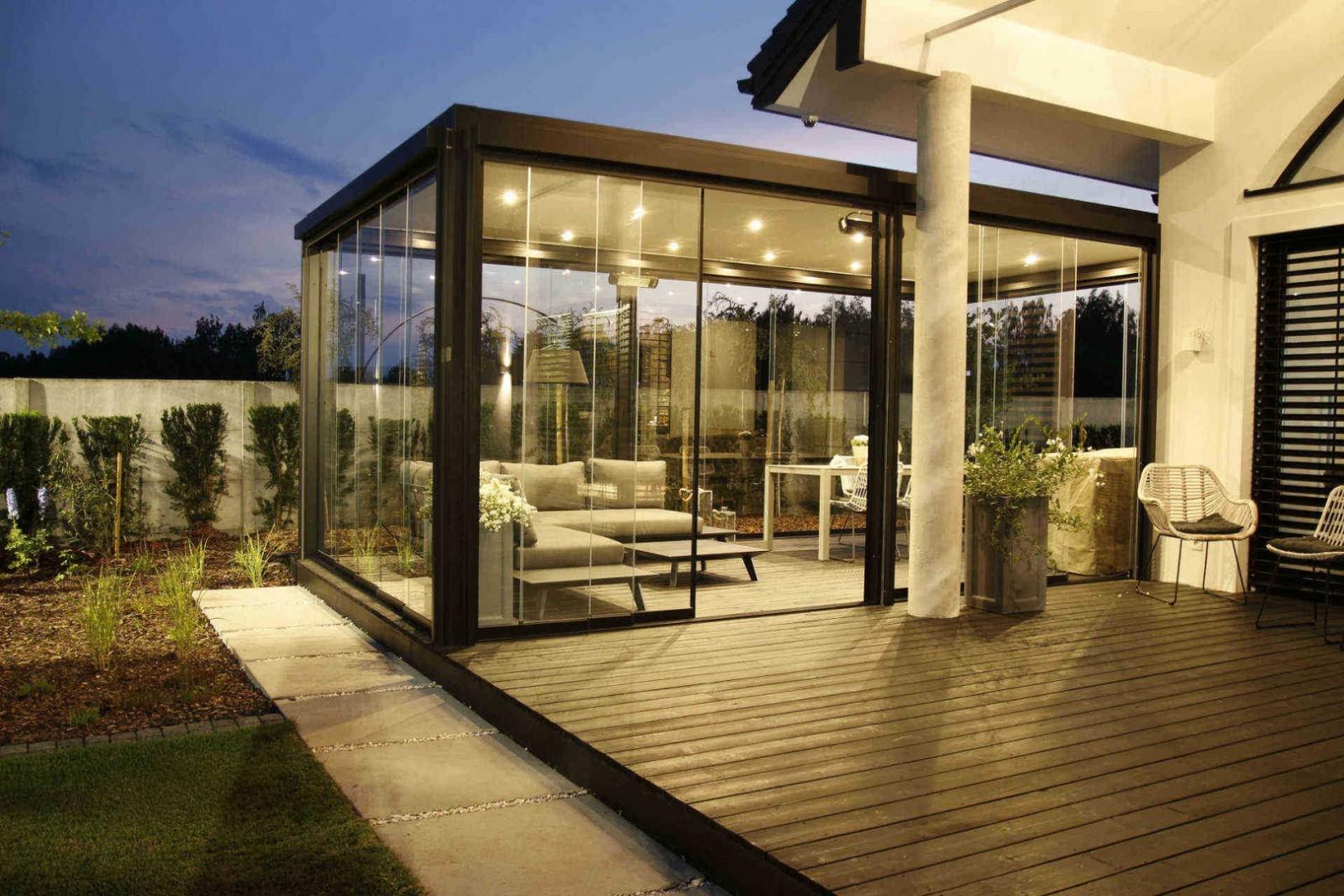 Lamellendach Pergola Sonnenschutz Terrasse freistehend