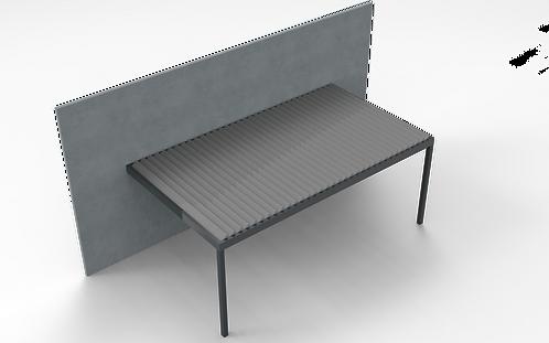 Lamellendach TECHNIC | 501,9 cm x 400 cm