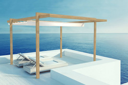 Pergola Sonnenschutz Terrasse