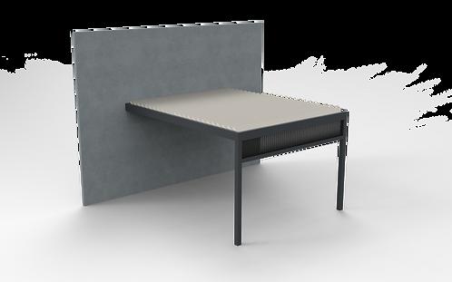 Lamellendach TECHNIC | 300cm x 401,9 cm | Screen vorne