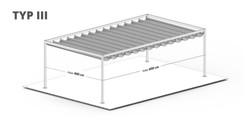 Pergola Sonnenschutz Terrasse freistehend