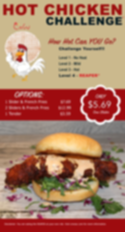 CnW Hot Chicken Challenge Poster.png