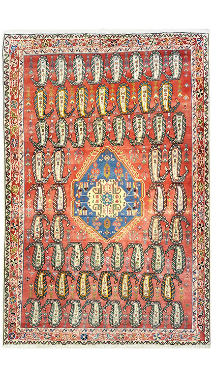 Tappeto Persiano Afshar 230x154 cm