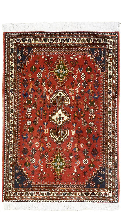 Tappeto Persiano Abadeh 130x75 cm