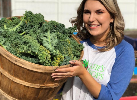 Katie's Krops: nurturing seedlings and a wish to end hunger
