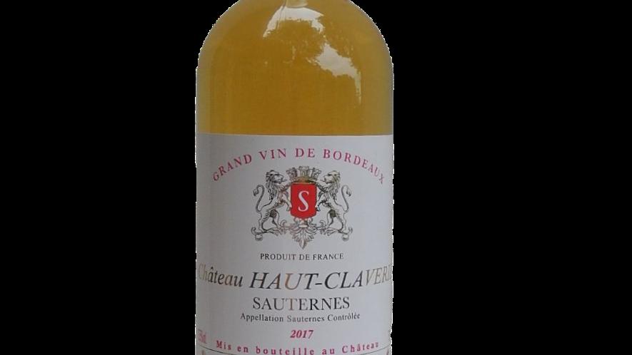 Château Haut-Claverie 2017 (SAUTERNES)