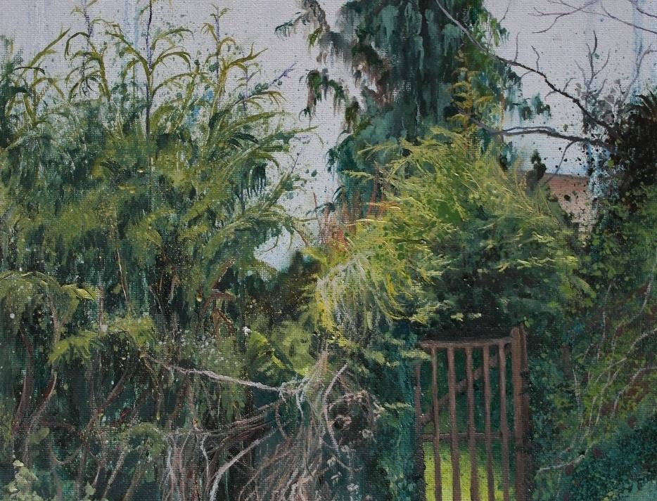 A Garden Exit