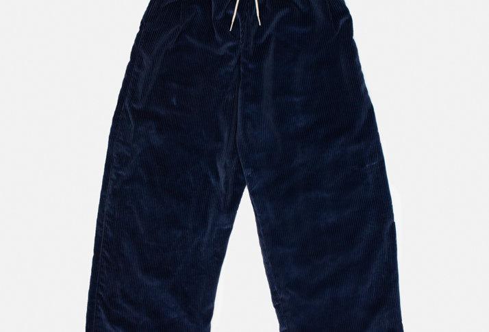 Midnight Cord Curtain Pants