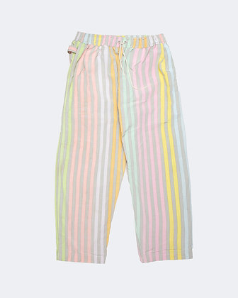 Upcycled Curtain Pants - Popsicle
