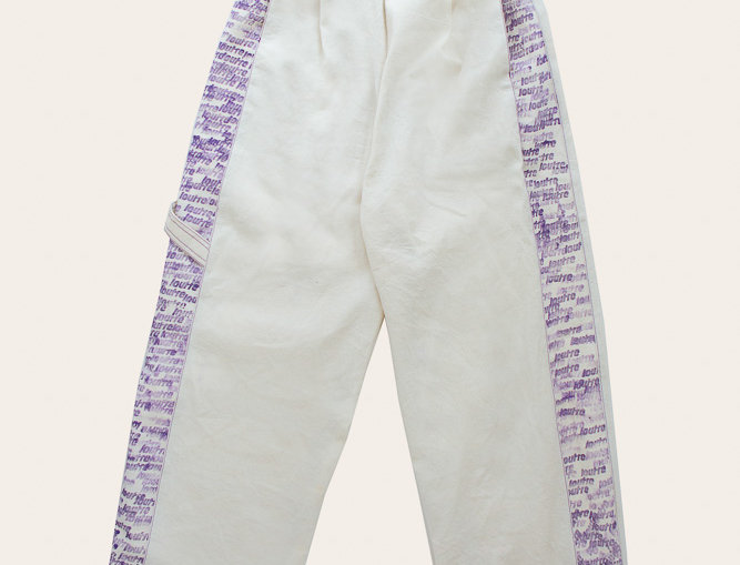 PATE PANTS - IVORY