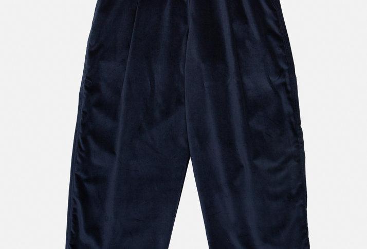 VELVET PANTS - OXIDE BLUE