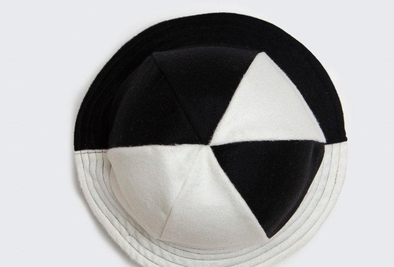 British Wool Offcuts Hat - Panda