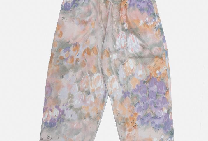 CURTAIN PANTS #001
