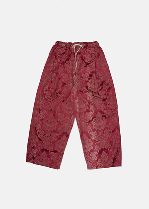 Royal Red Curtain Pants