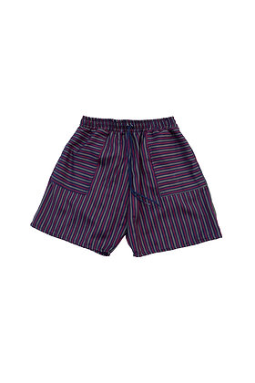 SHORTS - RED/BLUE