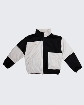 British Wool Patchwork Jacket - Panda