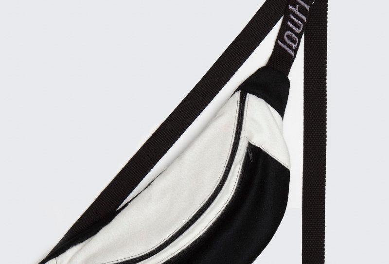 British Wool Offcuts Bag - Panda