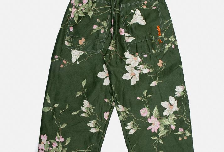 CURTAIN PANTS #002