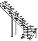 лестница,сварные лестницы на заказ,производство лестниц,установка лестниц.