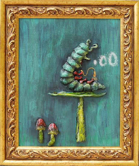 Alice in Wonderland Catapillar