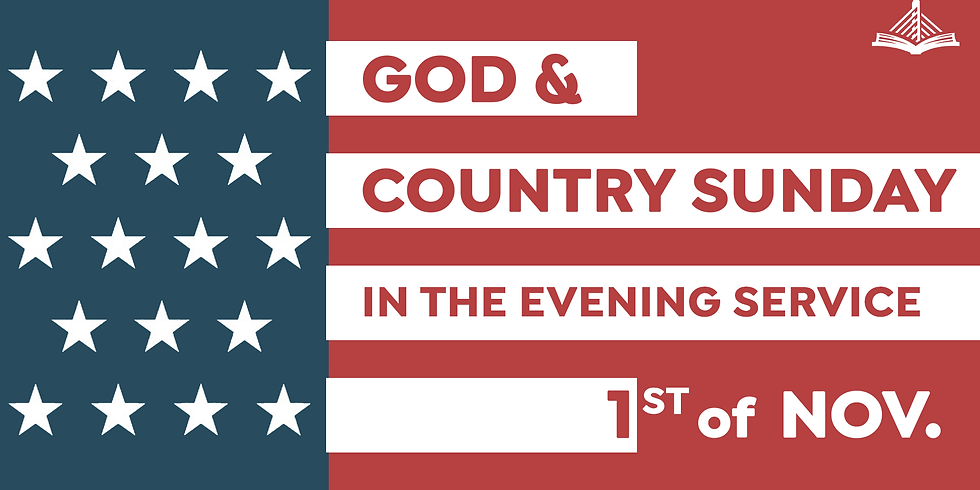 God & Country Sunday