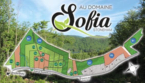 Carte terrains Domaine Sofia
