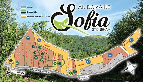 Carte Au Domaine Sofia