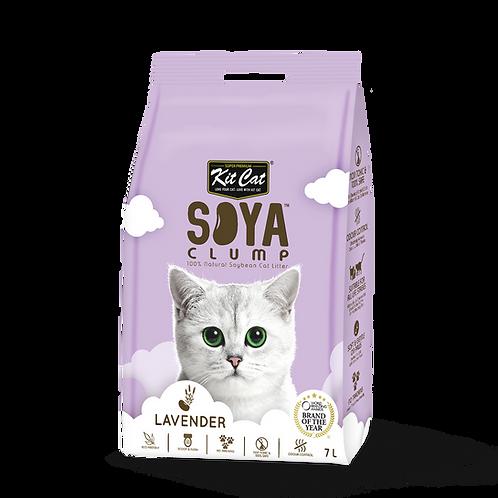 KIT CAT SoyaClump Soybean Litter Lavender  3.18 Kg