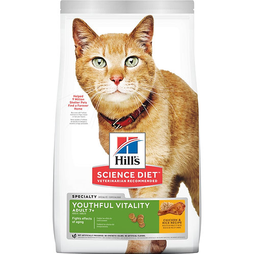 Hills SD Feline Adult 7+ Youthful Vitality (1.4 Kg - 2.7kg)