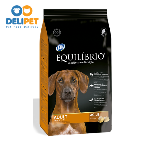 EQUILIBRIO ADULT DOGS  LARGE BREEDS 15 Kg