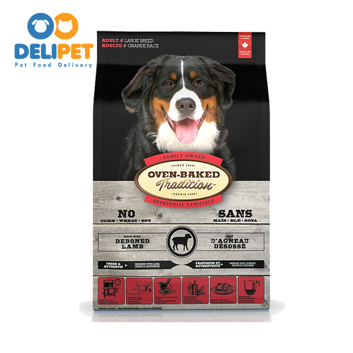 OVEN-BAKED TRADITION ADULT LARGE BREED WITH DEBONED LAMB 11.34 Kg