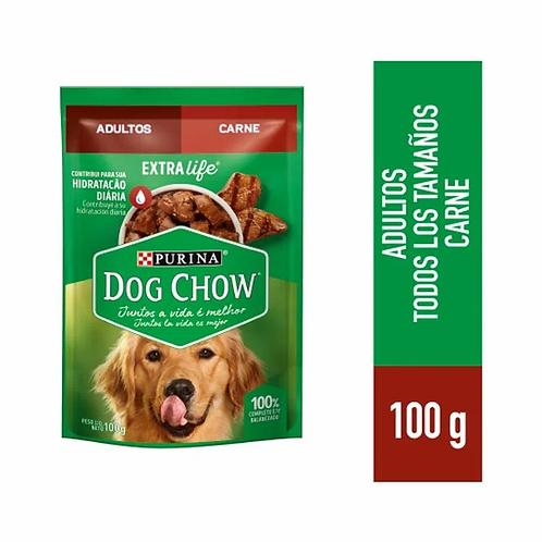 Sachets Dog Chow Cena De Carne Trozos Jugosos 15uni X 100gr