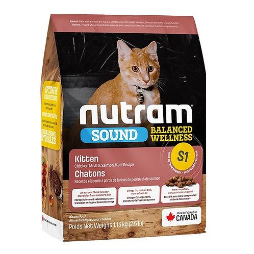 NUTRAM SOUND S1 KITTEN (1.13 KG - 5.4KG)