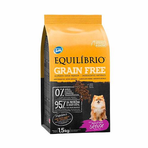 EQUILIBRIO GRAIN FREE MATURE SMALL BREEDS 1.5 kg