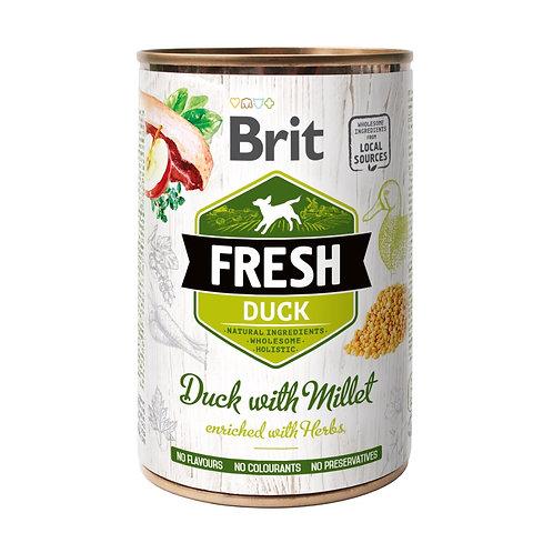 Lata Brit Fresh Duck With Millet 400Gr