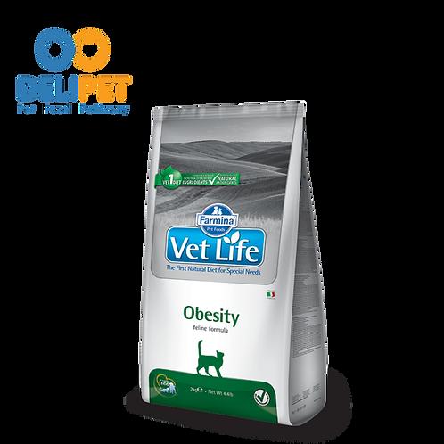 Vet Life Feline Obesity FELINO - 2 KG
